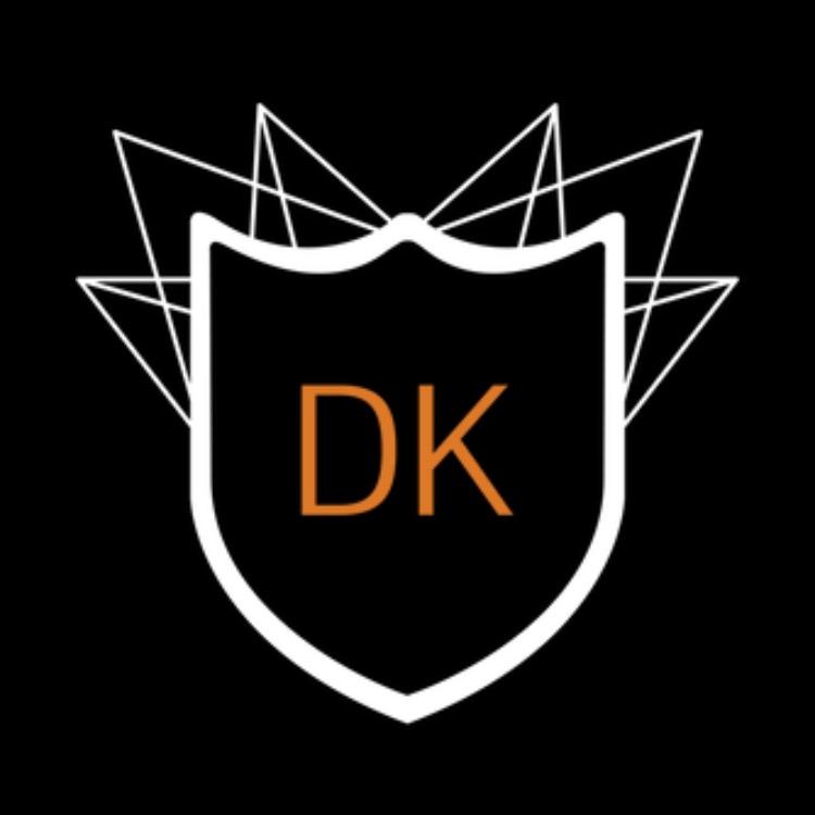 Hier sehen Sie das Logo von DK Group