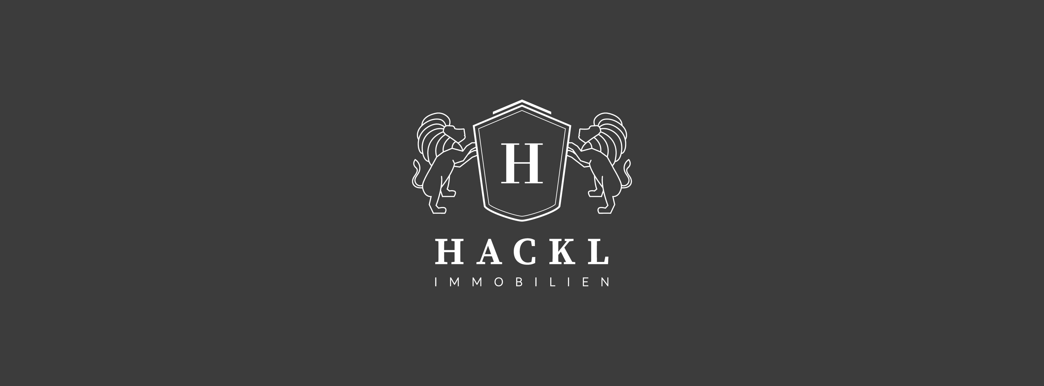 Hier sehen Sie das Logo von Hackl Immobilien