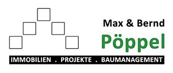 Hier sehen Sie das Logo von Immobilien- und Baumanagement Max & Bernd Pöppel