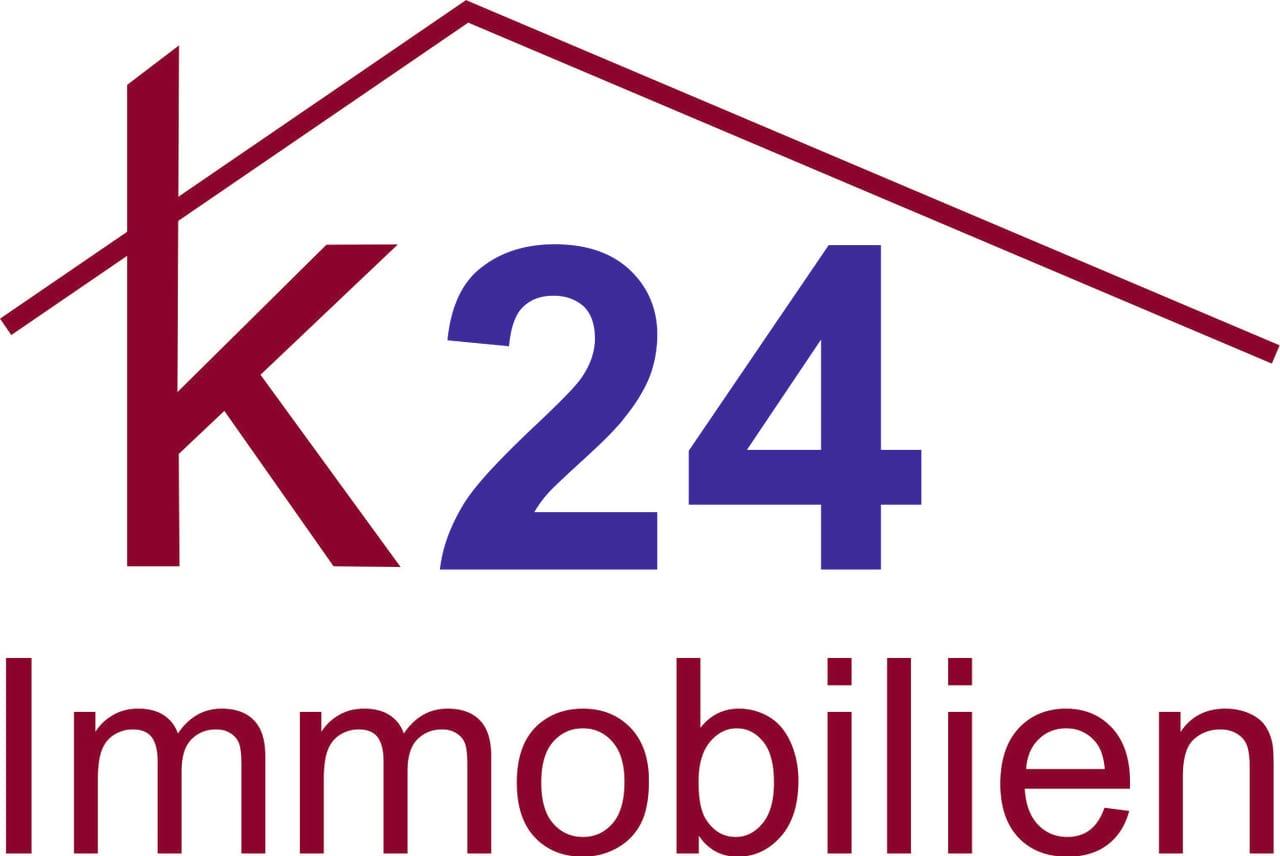 Hier sehen Sie das Logo von K24 Immobilien