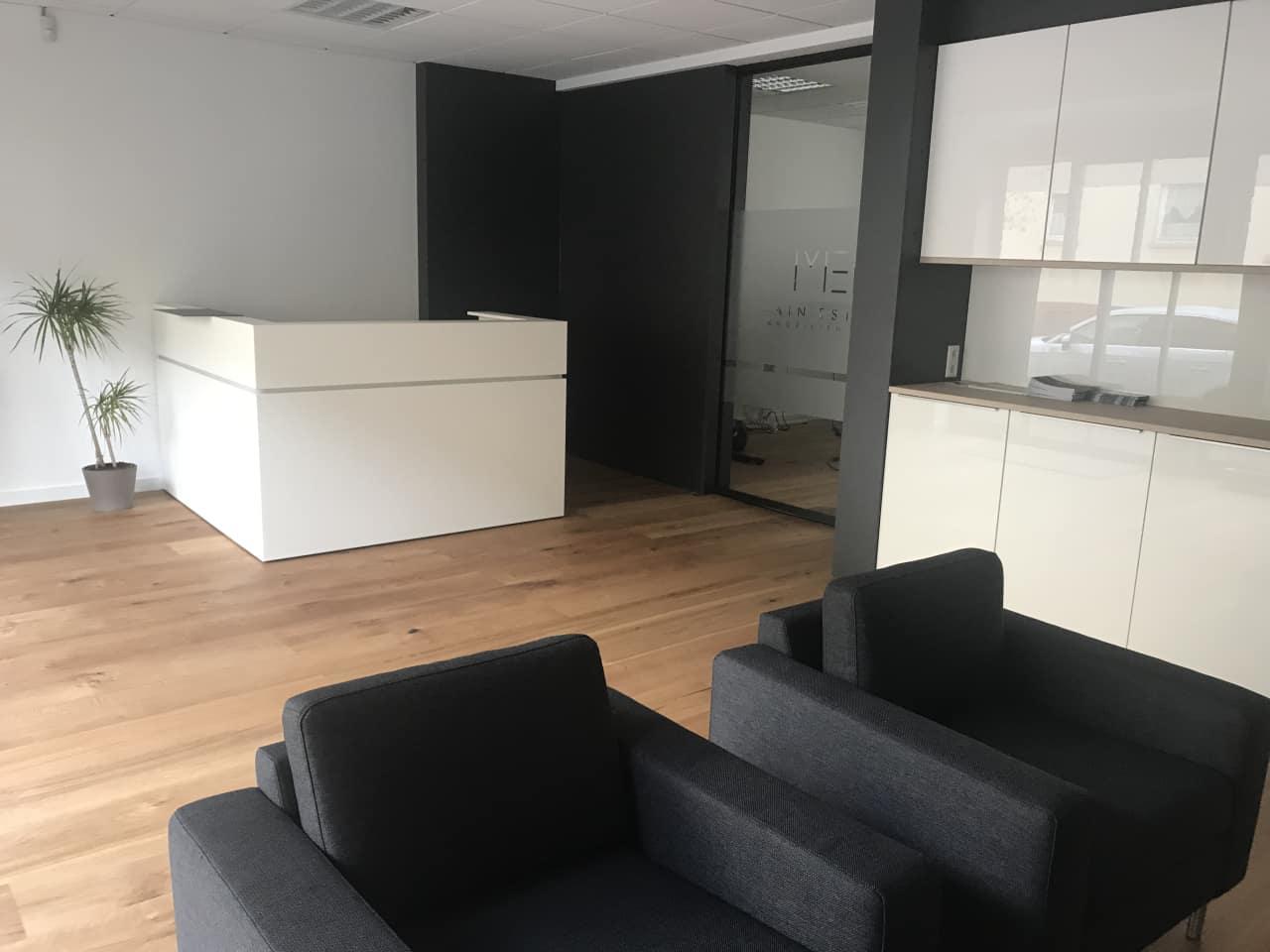Das Büro der Main Estate Immobilien GmbH