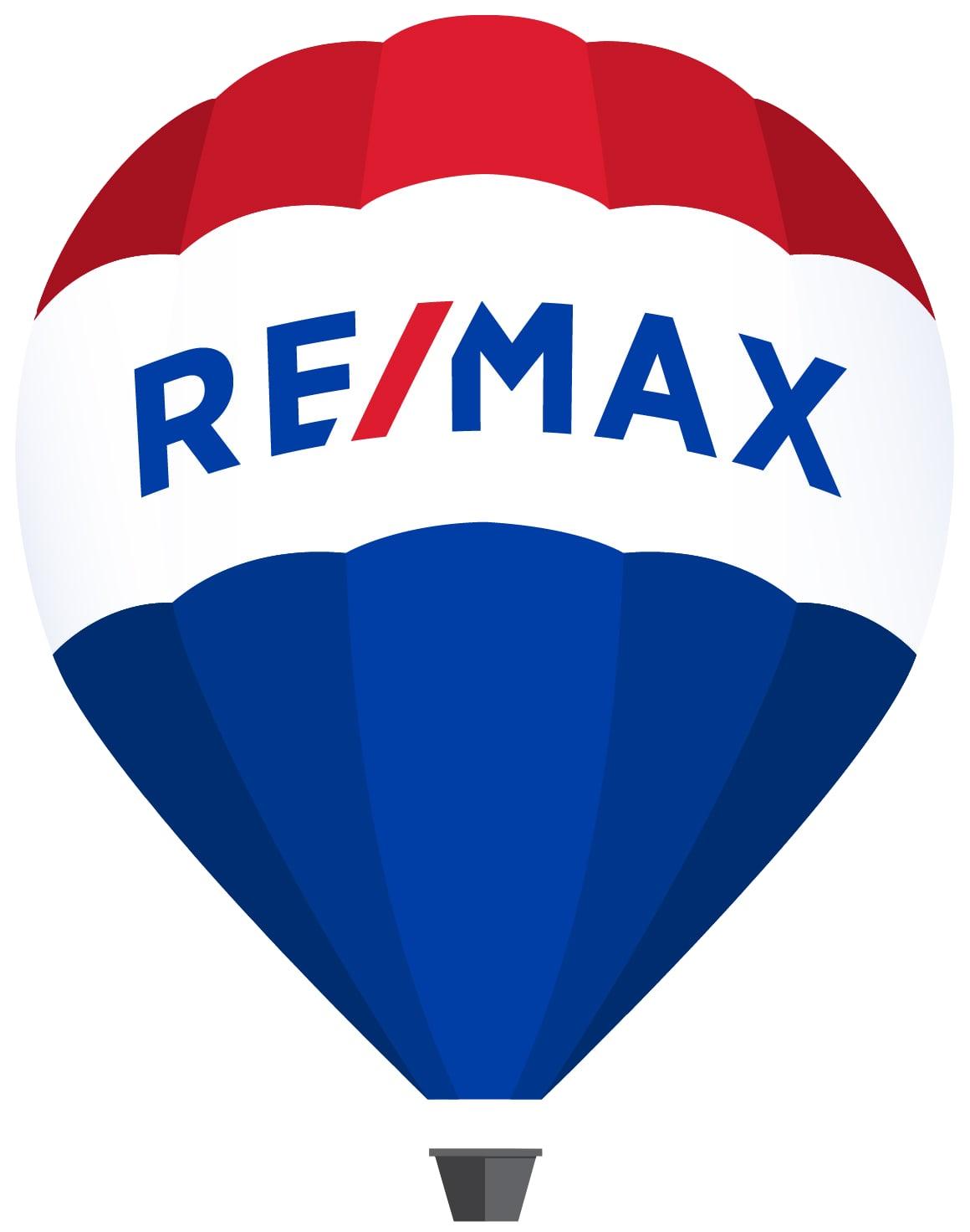 Hier sehen Sie das Logo von RE/MAX
