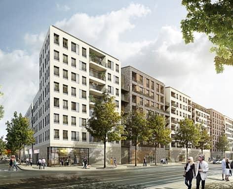2017 Erstvermietung von 214 Wohnungen | Frankfurt-Gallusviertel