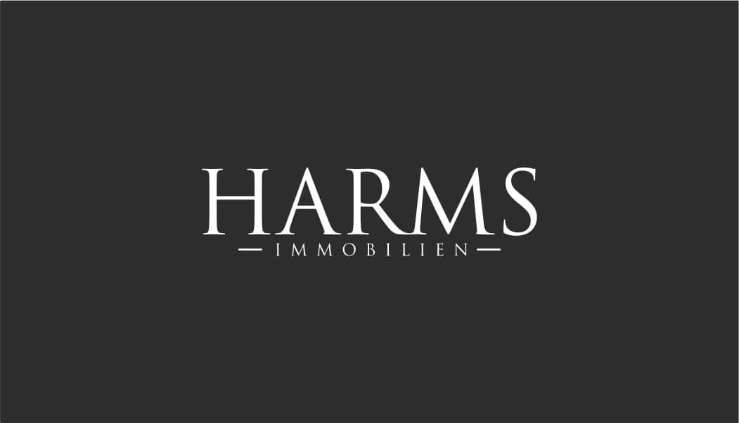 Hier sehen Sie das Logo von  Harms Immobilien