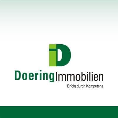 Hier sehen Sie das Logo von Doering Immobilien