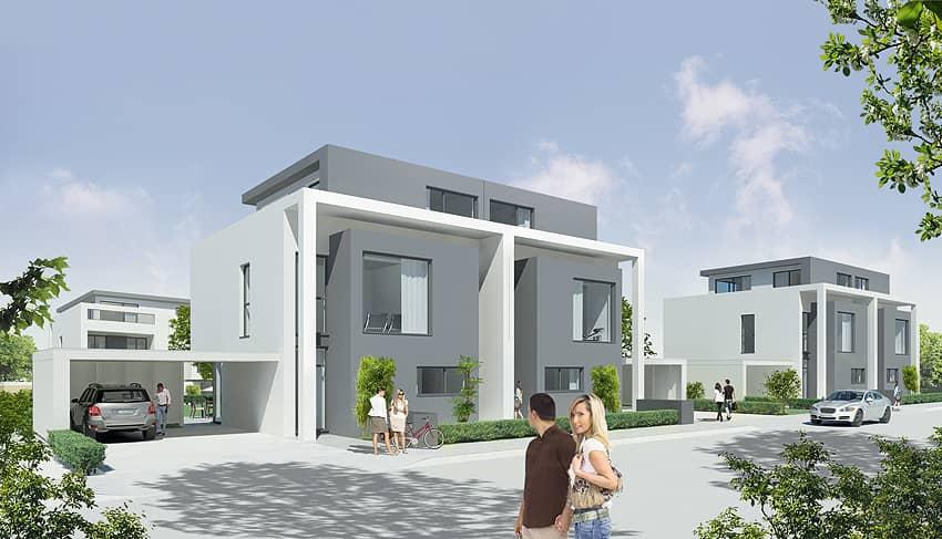 2012 Verkauf von 39 Reihen- und Doppelhäusern, frei stehenen Einfamilienhäusern sowie 20 Eigentumswohnungen