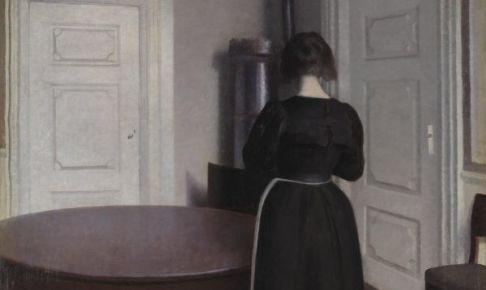 室内 ヴィルヘルム・ハマスホイ 1899