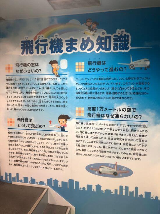 福岡空港案内飛行機豆知識