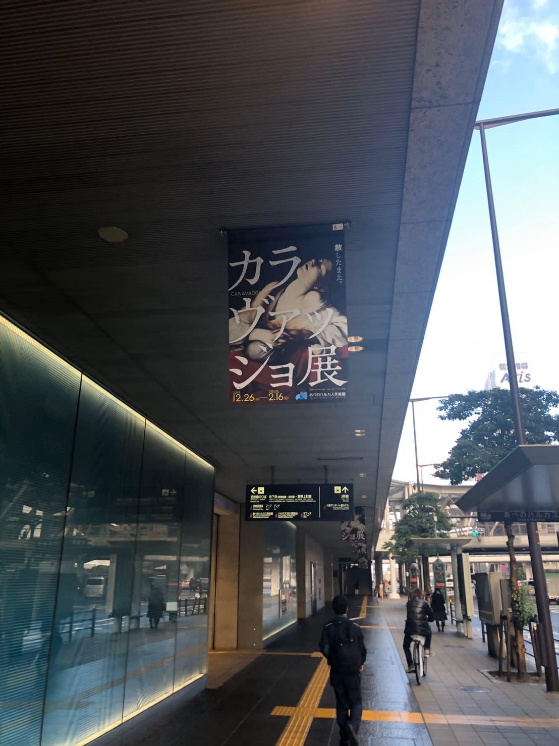 カラヴァッジョ展行き方 (11)