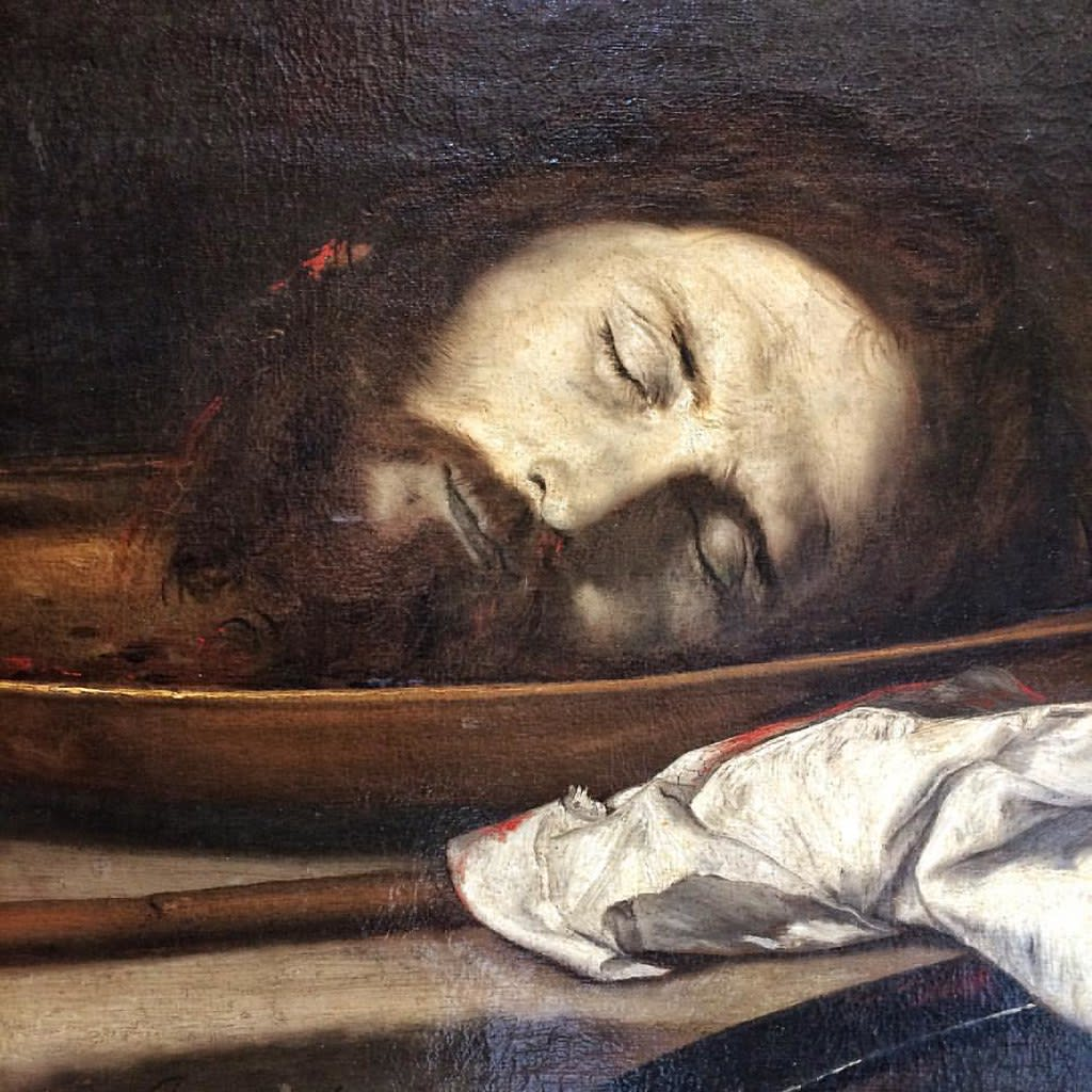 《洗礼者聖ヨハネの首》