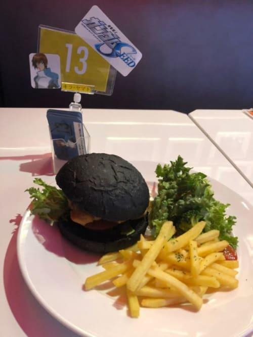 ガンダムカフェ@EXPO実食バーガー