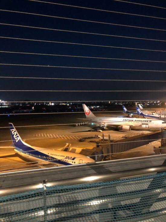 福岡空港送迎デッキ1