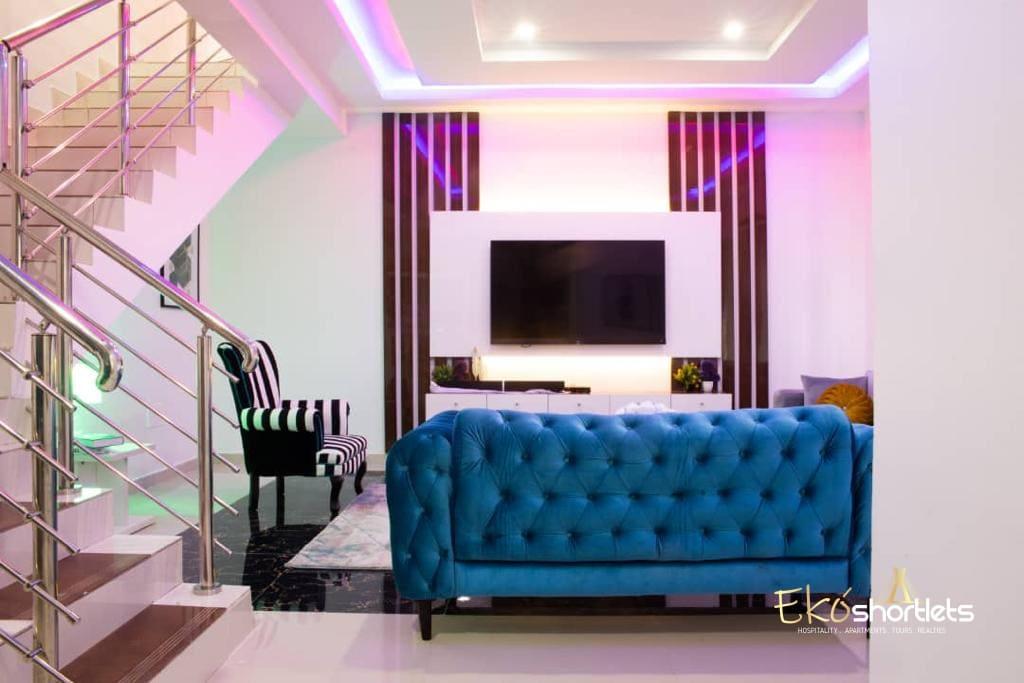 3 Bedroom Terrace Duplex - Gush