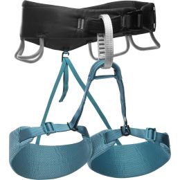 Nouveautés Eté 2020 BLACK DIAMOND BLACK DIAMOND MOMENTUM HARNESS W AQUA VERDE 21 - Ekosport