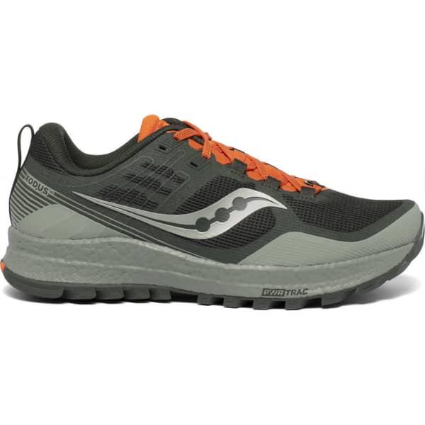 SAUCONY Chaussure trail Xodus 10 Desert/pine/orange Homme Vert/Orange taille 8