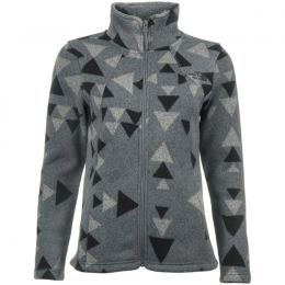 THE NORTH FACE W CRESCENT FULL ZIP MIDGREYAZTECPRT 19