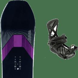Snowboard K2 K2 MANIFEST 21 + NITRO PHANTOM CARVER ULTRA BLACK 21 - Ekosport
