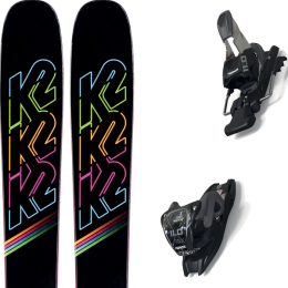 K2 MISSCONDUCT 20 + MARKER 11.0 TCX BLACK/ANTHRACITE 20