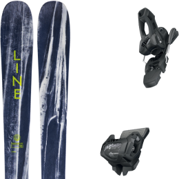 LINE SUPERNATURAL 92 20 + TYROLIA ATTACK² 11 GW W/O BRAKE [L] SOLID BLACK 20
