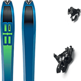 Pack ski DYNAFIT DYNAFIT TOUR 88 19 + MARKER ALPINIST 10 BLACK/TITANIUM 22 - Ekosport