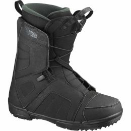 SALOMON TITAN BLACK/BLACK/GREEN GABLES 21