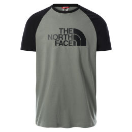 THE NORTH FACE M SS RAGLAN EASY TEE AGAVE GREEN 21