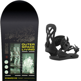 CAPITA OUTERSPACE LIVING 21 + UNION CONTACT PRO BLACK 21