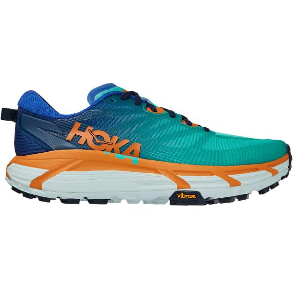 HOKA ONE ONE Chaussure trail Mafate Speed 3 Dazzling Blue/desert Sun Homme Vert/Bleu taille 7