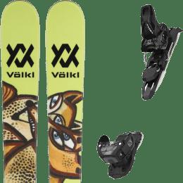 Pack ski alpin VOLKL VOLKL REVOLT 87 22 + SALOMON WARDEN MNC 11 BLACK L90 22 - Ekosport