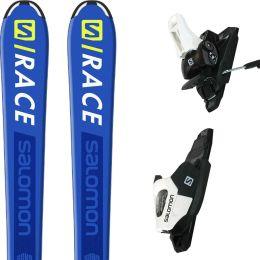 SALOMON E S/RACE JR M BLUE/YE + L C5 GW BLACK/WHITE J75 20
