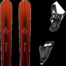 SALOMON MTN EXPLORE 88 RED/BLACK 21 + ARMADA SHIFT MNC 13 ARMADA BLACK 90MM 21