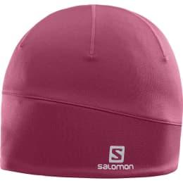 Bonnet et Bandeau SALOMON SALOMON ACTIVE BEANIE BEET RED 18 - Ekosport