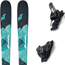 NORDICA ASTRAL 78 21 + MARKER 11.0 TCX BLACK/ANTHRACITE 20