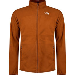 THE NORTH FACE M 100 GLACIER FULL Z CARAMEL CAFE 20