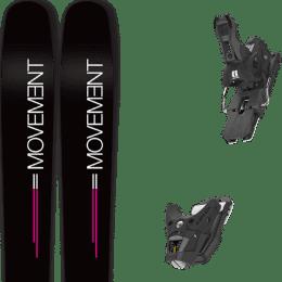 Pack ski alpin MOVEMENT MOVEMENT GO 100 WOMEN 19 + ARMADA STH2 WTR 13 BLACK C100 21 - Ekosport