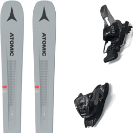 Pack ski alpin ATOMIC ATOMIC VANTAGE 86 C GREY/BLUE 21 + MARKER 11.0 TCX BLACK/ANTHRACITE 21 - Ekosport