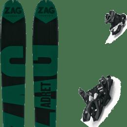 Landing housse ski offerte 2018 ZAG ZAG ADRET 81 20 + MARKER ALPINIST 12 BLACK/TITANIUM 22 - Ekosport