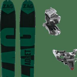 Ski randonnée ZAG ZAG ADRET 81 20 + DYNAFIT SPEED RADICAL SILVER 21 - Ekosport