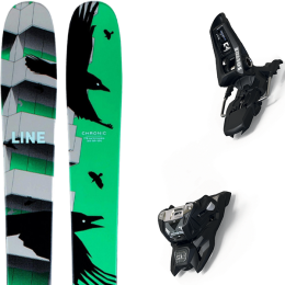 LINE CHRONIC 21 + MARKER SQUIRE 11 ID BLACK 21