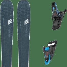 Pack ski alpin K2 K2 MINDBENDER 98 TI ALLIANCE 20 + SALOMON S/LAB SHIFT MNC 13 BLACK/BLUE SH100 22 - Ekosport