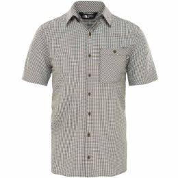 THE NORTH FACE M S/S HYPRESS SHIRT NEW TAUPE GREEN 19