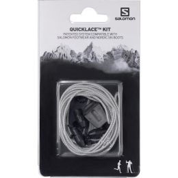 SALOMON QUICKLACE KIT GREY 20