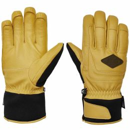 PICTURE BOOGEY GLOVES YELLOW 19
