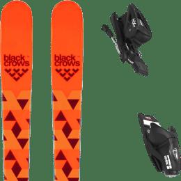 Boutique BLACK CROWS BLACK CROWS MAGNIS 20 + LOOK NX JR 7 GW B83 BLACK 21 - Ekosport
