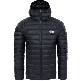 THE NORTH FACE M TREVAIL HOODIE TNF BLACK/TNF BLACK 21