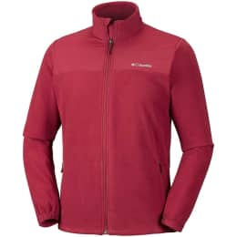 Vêtement de ski COLUMBIA COLUMBIA FAST TREK NOVELTY FULL ZIP FLEECE RED ELEM 19 - Ekosport