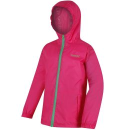REGATTA KID PK IT JKT III HOT PINK 19