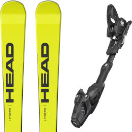 HEAD WC REBELS E-SPEED SW PRO R + FREEFLEX ST 16 BR.85 21