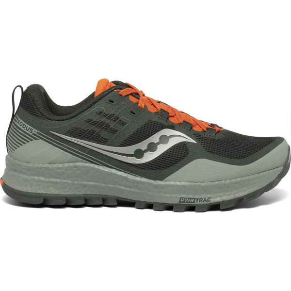 SAUCONY Chaussure trail Xodus 10 Desert/pine/orange Homme Vert/Orange taille 7.5