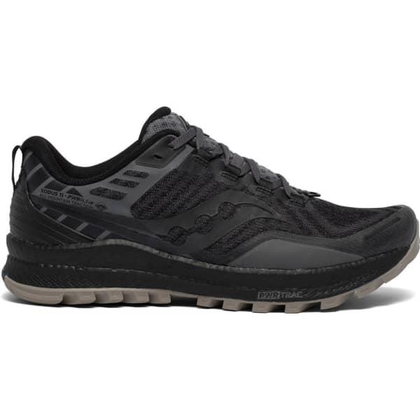 SAUCONY Chaussure trail Xodus 11 Black / Gravel Homme Noir taille 8.5